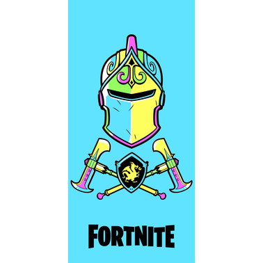 Fortnite Techno Knight  Beach Towel