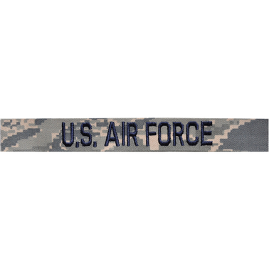 Embroidered Air Force ABU Branch Tape