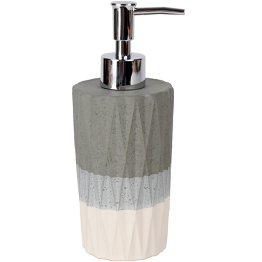 Saturday Knight LTD Cubes Lotion / Soap Dispenser in Dove Gray