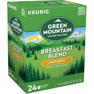 Green Mountain Coffee Breakfast Blend 24 ct.