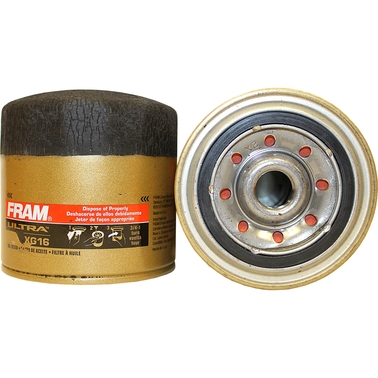 FRAM Ultra  Spin On Oil Filter, XG16