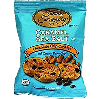 Sweet Serenity Caramel Sea Salt Chocolate Chip Cookies 2 oz. 48 pk.