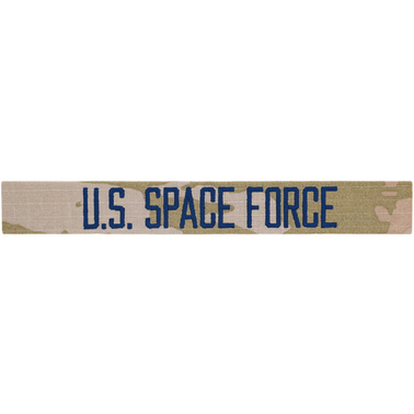 Space Force Branch Of Service Tape, No Hook & Loop