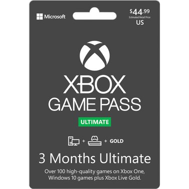 Microsoft Xbox Game Pass Ultimate 3 Months