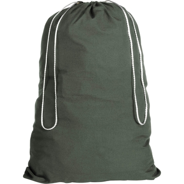 Whitmor Cotton Laundry Bag Green