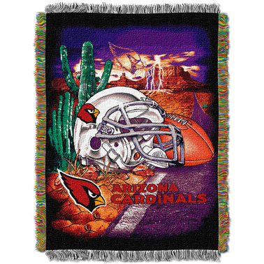 Northwest NFL Arizona Cardinals Home Field Advantage Tapestry Throw