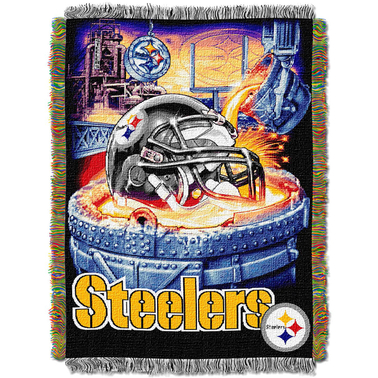 Northwest Home Field Advantage Tapestry Throw - Pittsburgh Steelers