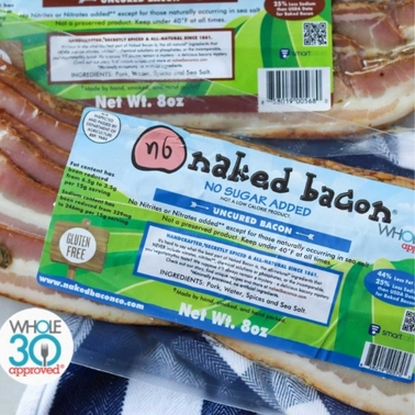 Naked Bacon No Sugar Added Bacon 5 pk., 8 oz. each