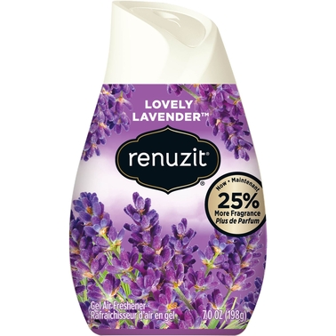 Renuzit Lovely Lavender Adjustable Cone Air Freshener 7 oz.