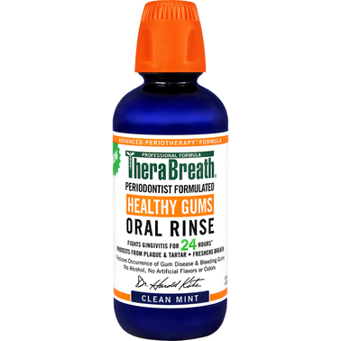 Therabreath Oral Rinse Healthy Gums 16 oz.
