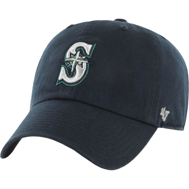 47 Brand MLB Seattle Mariners Clean Up Baseball Cap