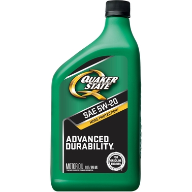 Quaker State Advanced Durability 5W-20 Conventional Motor Oil