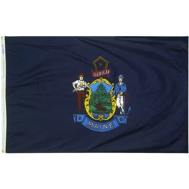 Annin Flagmakers Maine State Flag