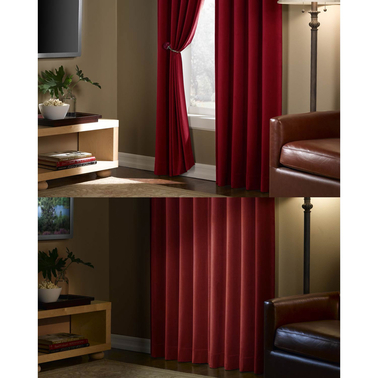Maytex 40 x 84 Velvet Blackout Window Panel