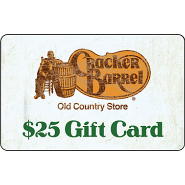 Cracker Barrel Old Country Store Gift Card