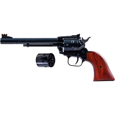 Heritage Rough Rider 22 LR 22 WMR 6.5 in. Barrel 6 Rds AS Revolver Blued