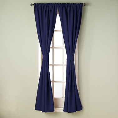 Simply Perfect Bradford 84 in. Window Curtain Panel Pair 80 x 84