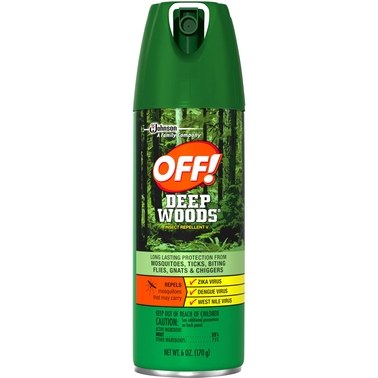 OFF! Deep Woods Insect Repellent V Aerosol