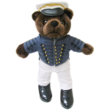 Bear Forces of America Plush Bear in USMA West Point Uniform, 11 in.