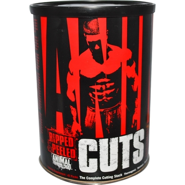 Universal Nutrition Animal Cuts Supplement 42 Ct.