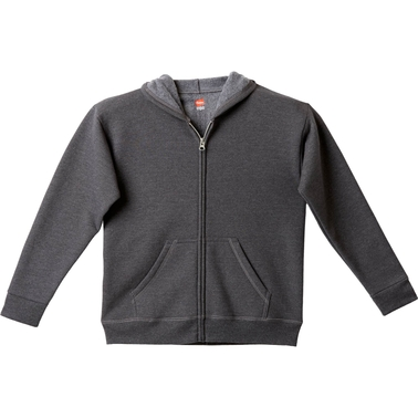 Hanes Boys Full Zip Fleece Hoodie