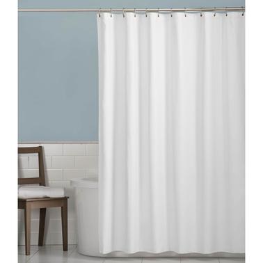 Maytex Microfiber Shower Curtain Liner