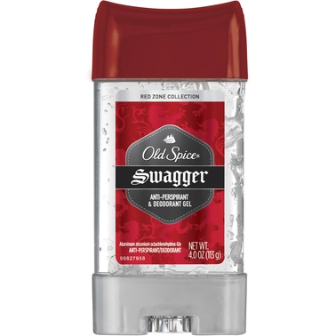 Old Spice Men's Red Zone Swagger Scent Clear Gel Antiperspirant & Deodorant 3.8 Oz.