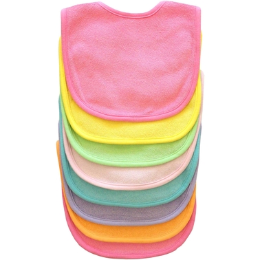 Gumballs Infant Multicolor Bib 8 Pc. Set