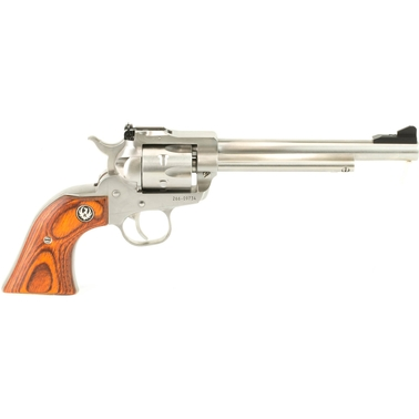 Ruger Single-Six Convertible 22 LR 22 WMR 6.5 in. Barrel 6 Rnd Revolver SS