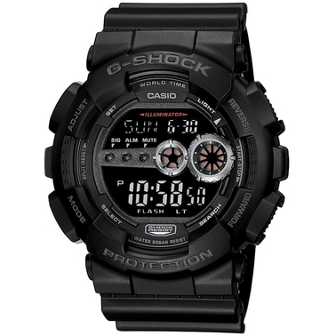 Casio Men's G-Shock 200M Tough Sport Watch GD100-1B