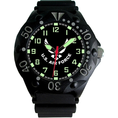 Frontier Aquaforce U.S. Air Force Analog 200M Dive Watch
