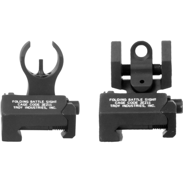 Troy BattleSight Front and Rear Micro Sight