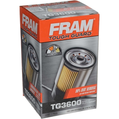 FRAM Tough Guard Spin On Oil Filter, TG3600