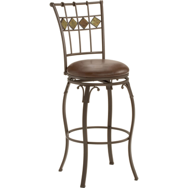 Hillsdale Lakeview Swivel Counter Stool