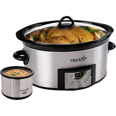 Crock-pot 6 Qt. Oval Slow Cooker | Slow Cookers & Roasters ...