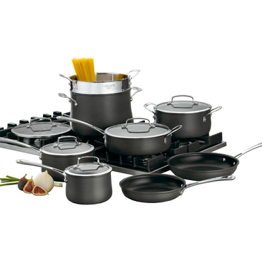 Cuisinart Contour Hard Anodized 13 pc. Cookware Set