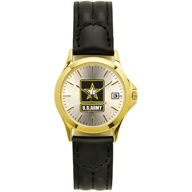 Frontier Men's Army Insignia Quartz Date Watch 108