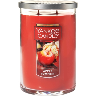 Yankee Candle Apple Pumpkin Large 2 Wick Tumbler Candle