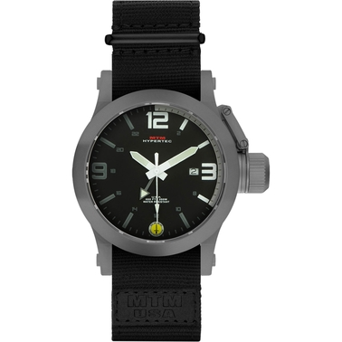 MTM Special Ops Mens Hypertec XL Gray Watch with Rubber Strap