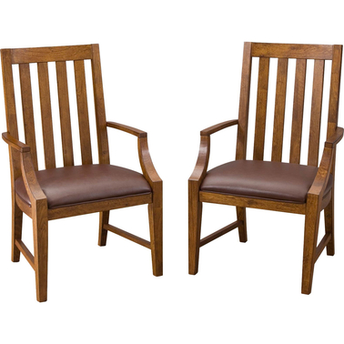 Home Styles Arts and Crafts Game Chair Set of 2