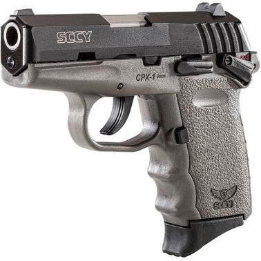 SCCY CPX-1 9MM 3.1 in. Barrel 10 Rds 2-Mags Pistol Black
