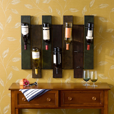 SEI Navarra Wall Mount Wine Rack