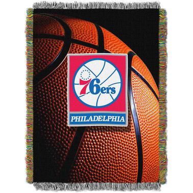 Northwest NBA Philadelphia 76ers Photo Real Tapestry Throw
