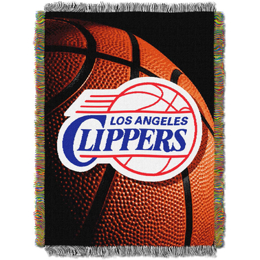 Northwest NBA Los Angeles Clippers Photo Real Tapestry Throw