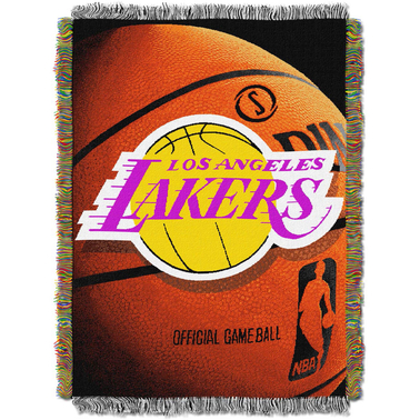 Northwest NBA Los Angeles Lakers Photo Real Tapestry Throw