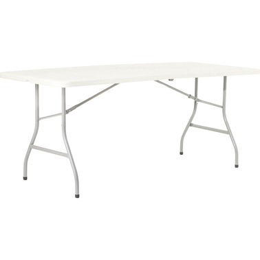 Simply Perfect 6 ft. Rectangular Folding Table