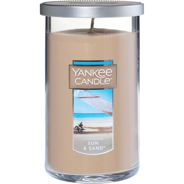 Yankee Candle Sun & Sand Medium Perfect Pillar Candle