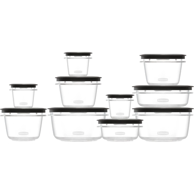 Rubbermaid Premier 20 Pc. Food Storage Container Set