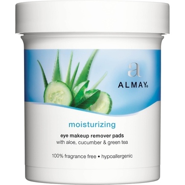 Almay Moisturizing Eye Makeup Remover Pads, 120 Count