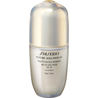 Shiseido Future Solution LX Protective Emulsion SPF 18 for Face